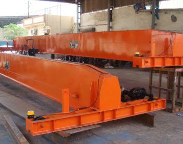 Single Girder EOT Crane Manufacturer Ahmedabad