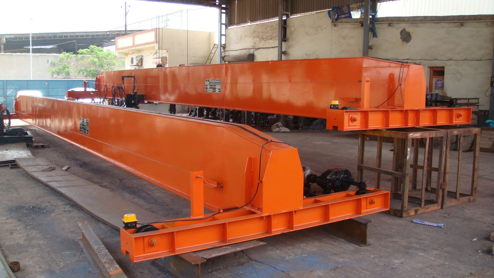 Single Girder EOT Crane Manufacturer Ahmedabad